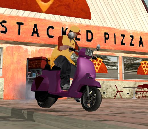Job Pizza Boy SA:MP